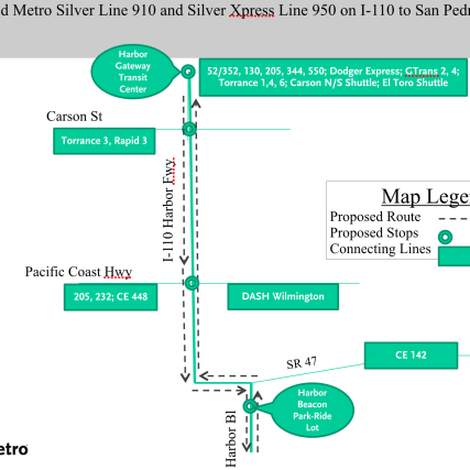 silver line change map 2