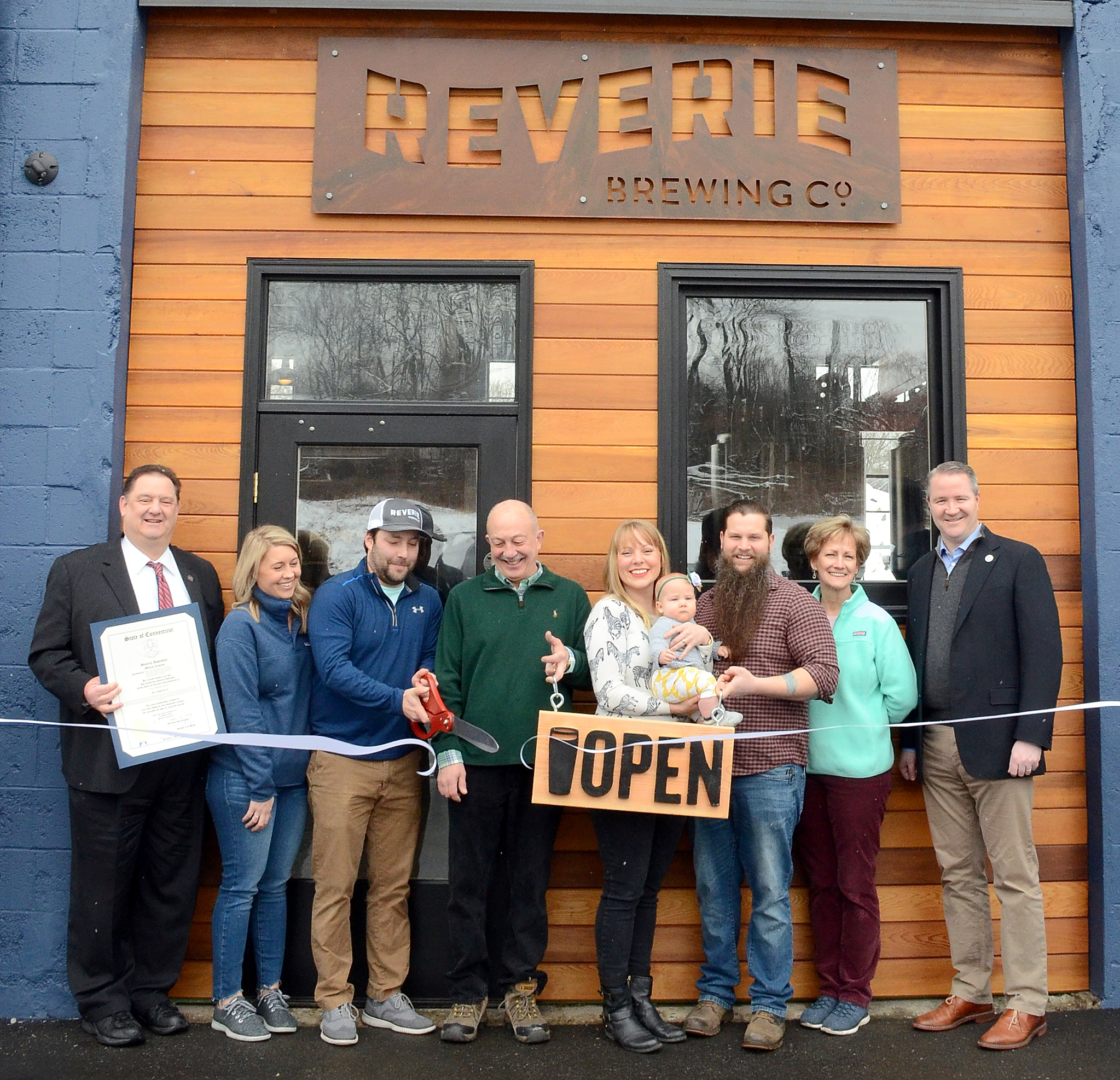 Garage Brewing Restaurant Reverie Brewing Company Serving Up Its Whimsy Ice Cold The