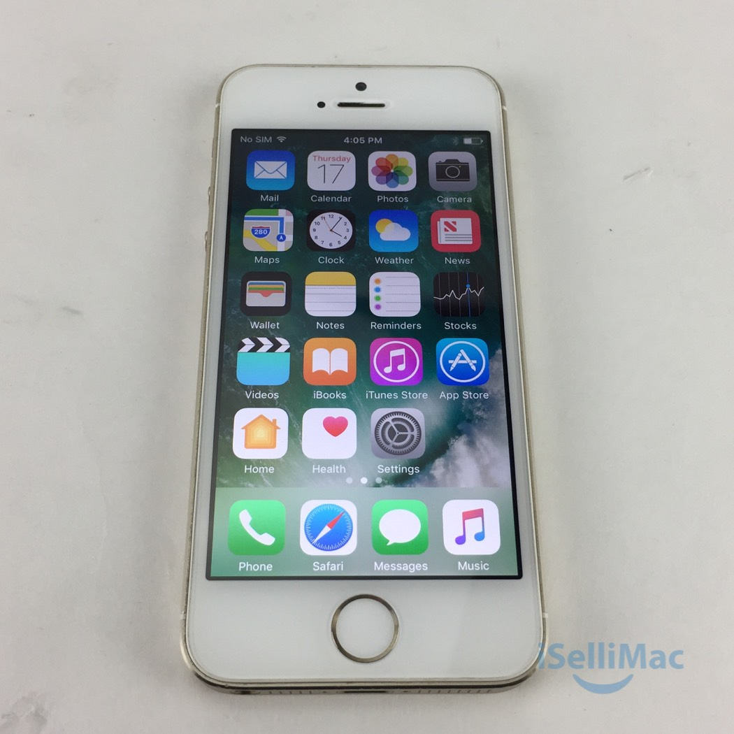 Iphone Se 16go Reconditionné Details About Apple At T Iphone 5s 16gb Gold Me307ll A B Grade Warranty