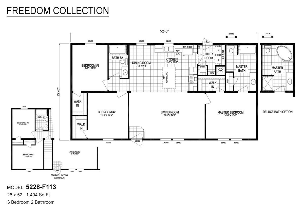 Freedom Collection 5228 F113 By Crest Homes