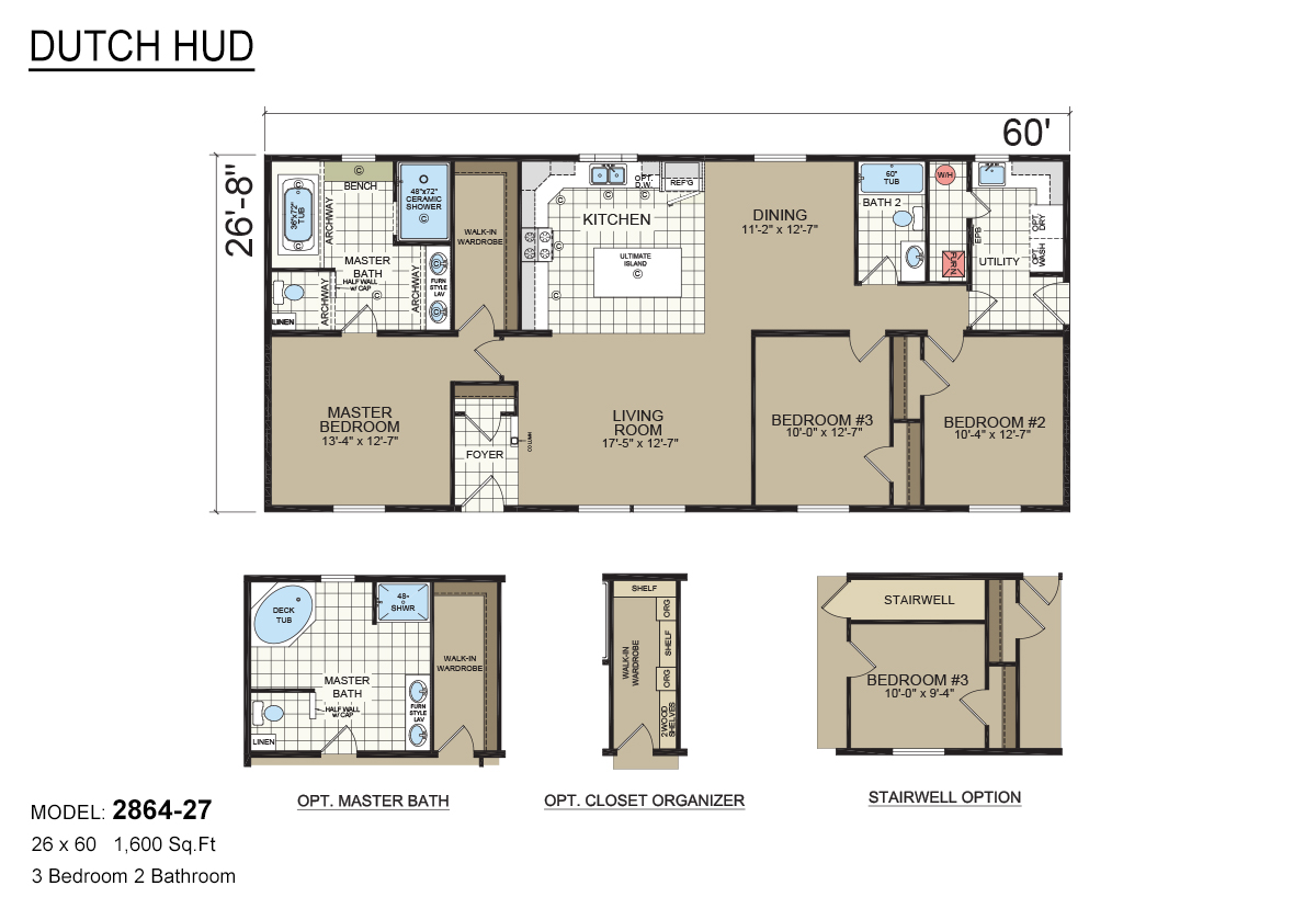 Us Homes Floor Plans Davis Homes In Mt Pleasant Ia Manufactured Home And