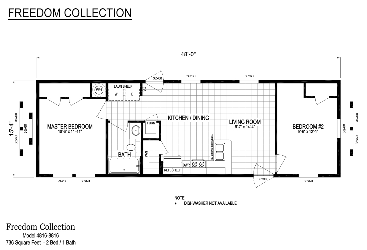 Freedom Series 4816 8816 By Schult Homes Middlebury