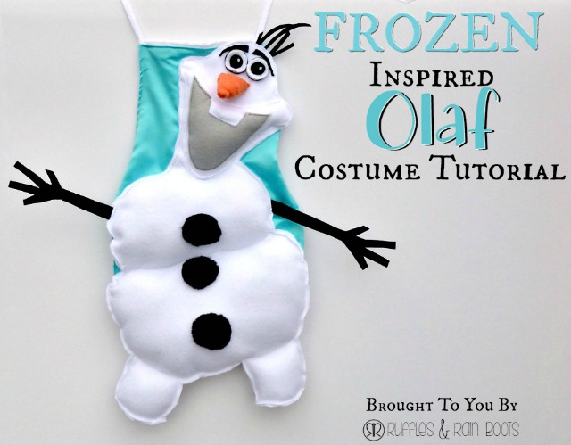 An Olaf Dress Up Costume to Say \
