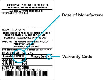 Beautyrest Mattress Warranty Make a Claim Beautyrest