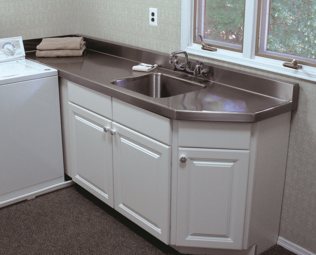 Laundry Room Countertop Material Stainless Steel Countertops For Residential Pros