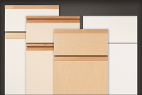 Slab style cabinet doors, drawer fronts | For Residential Pros