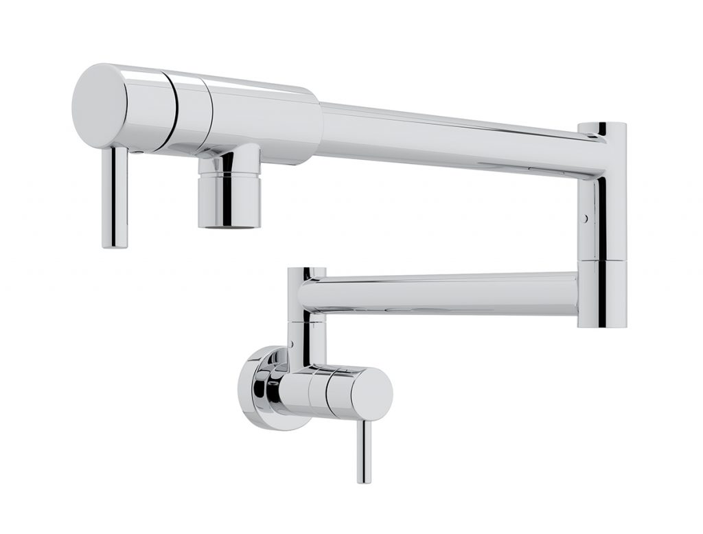kitchen water essentials articulating kitchen faucet Brizo s Artesso Single Handle Articulating Kitchen Faucet incorporates SmartTouch Technology with TempID for on off functionality and a temperature visual