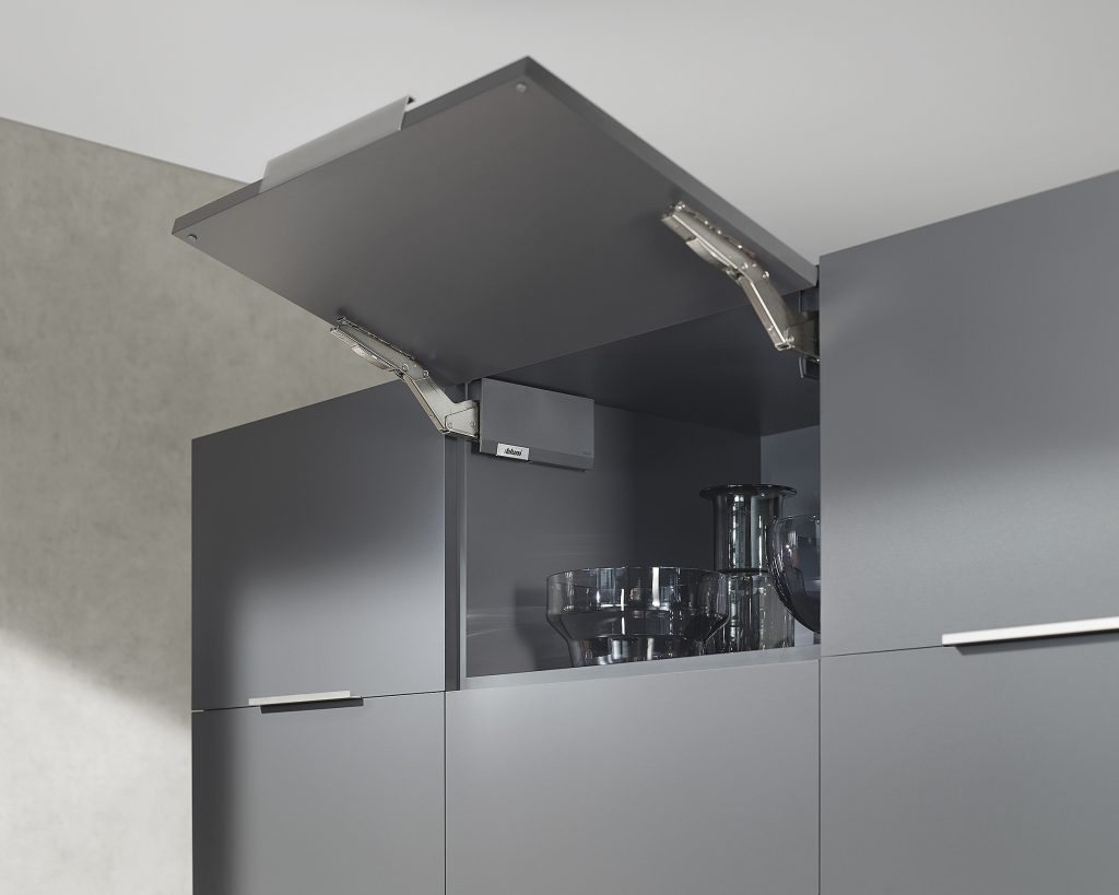 Kuche Top Mount Bar Fridge Cabinet Lift Systems Kitchen Bath Design News