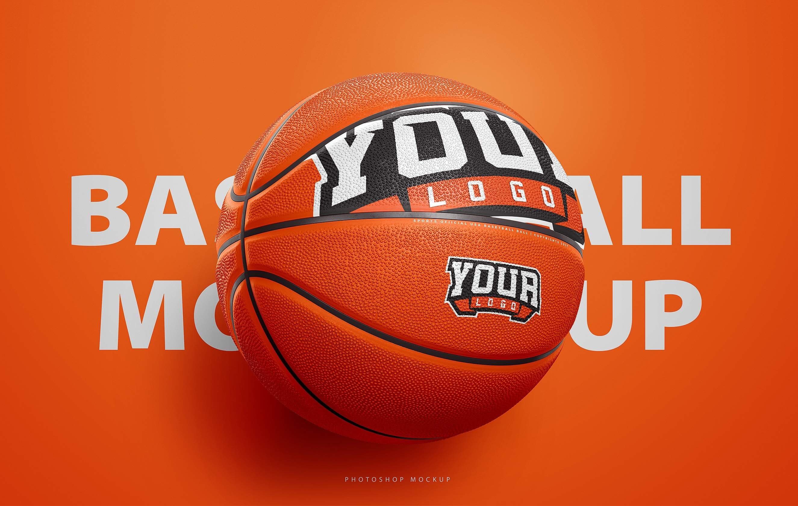 Basketball Ball Basketball Ball Photoshop Template