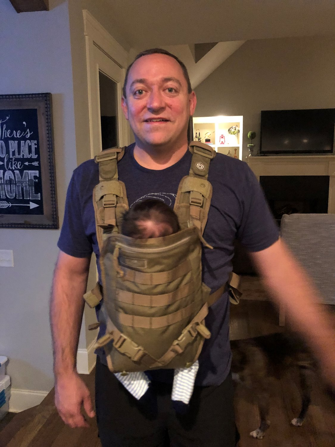Infant Carrier Military Mission Critical Facebook