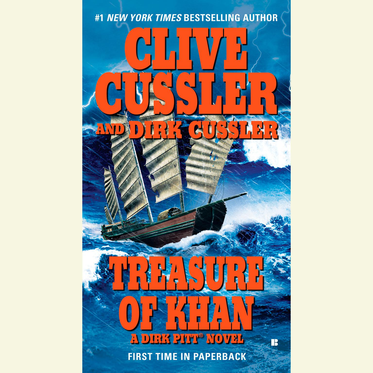 Clive Cussler Libros Treasure Of Khan Audiobook