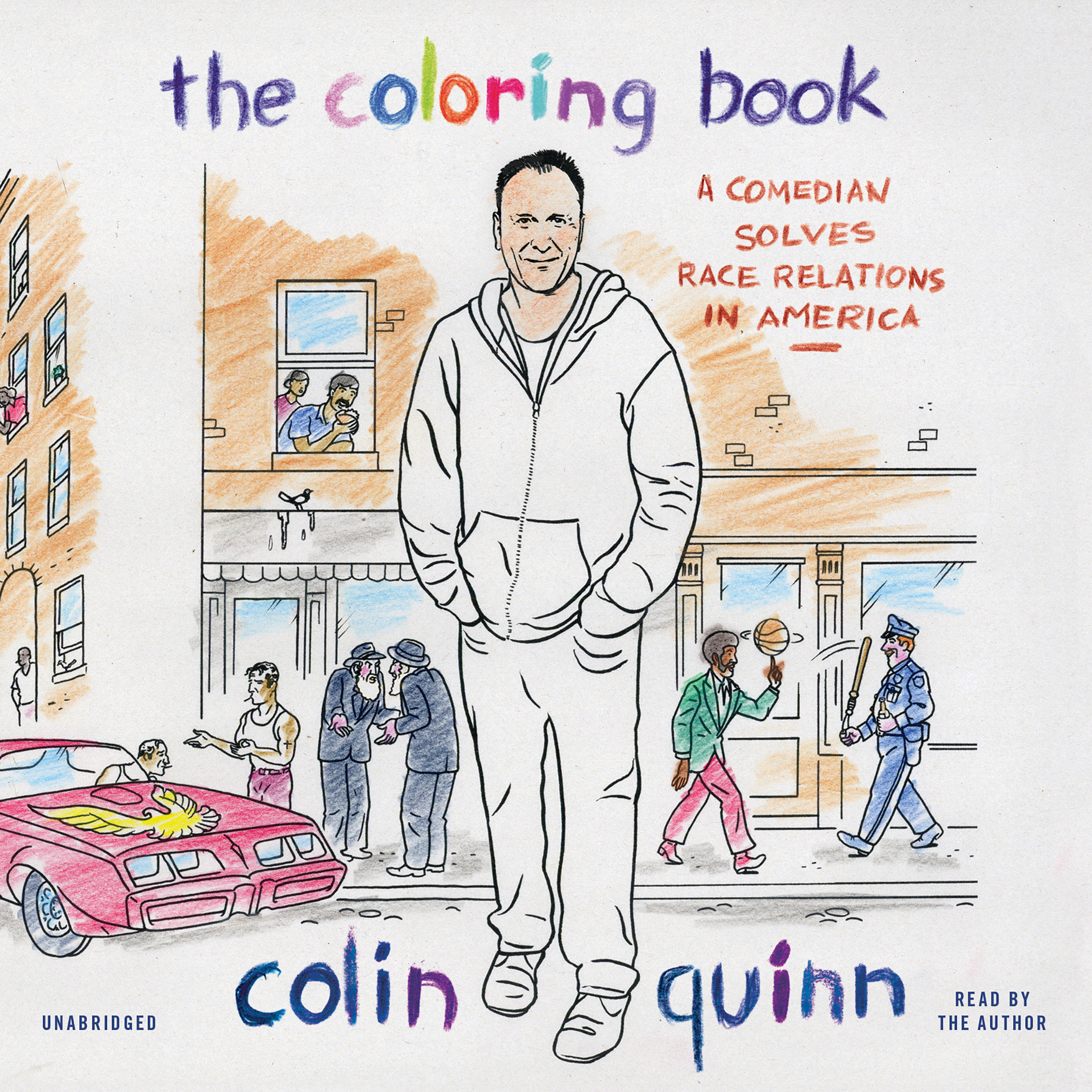Extended audio sample the coloring book a comedian solves race relations in america audiobook by colin quinn