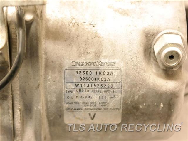 2012 Nissan JUKE ac compressor - 9260011 - Used - A Grade