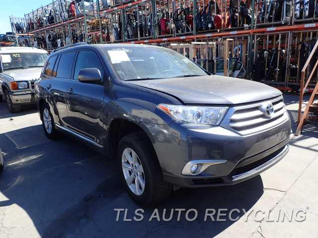 Parting Out 2013 Toyota Highlander - Stock - 6187BL - TLS Auto Recycling