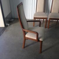 4 high end solid wood chairs Esquimalt & View Royal, Victoria