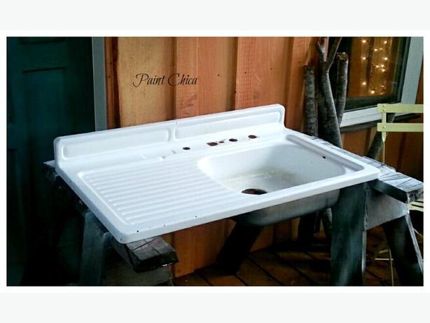Farmhouse Sink With Drainboard Cedar Nanaimo