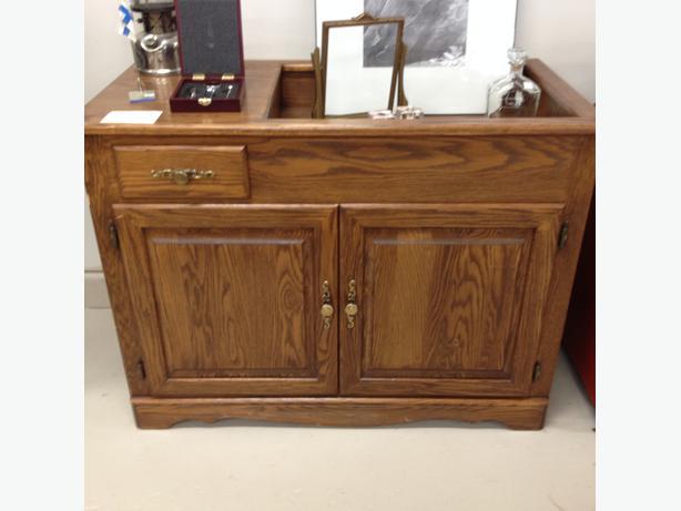 Solid Oak Dry Sink Cabinet West Shore Langfordcolwood