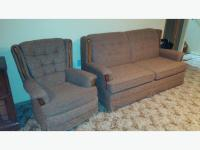 Hideabed Sofa and Rocking Chair East Regina, Regina
