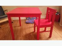 IKEA KRITTER Table and 1 Chair Central Ottawa (inside ...