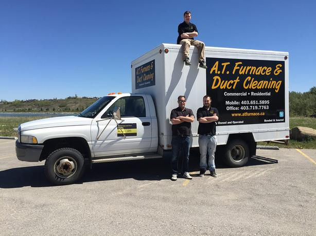 At Furnace And Duct Cleaning South West Calgary