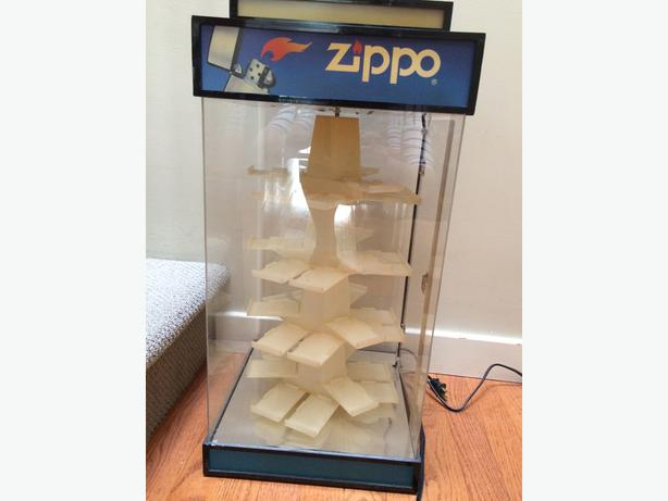 Zippo Display Casess Saanich Victoria