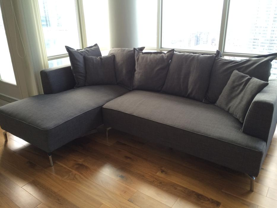 Sectional Sofas Montreal On Sale Structube Kennedy Sectional Sofa For Sale Downtown Toronto