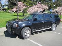 2001 Nissan Frontier SE 4X4 Crew Cab w/ canopy & roof ...
