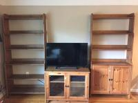 Ikea Leksvik Bookshelves and TV stand Victoria City, Victoria