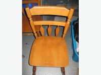 Solid Maple kitchen table chairs Orleans, Gatineau - MOBILE