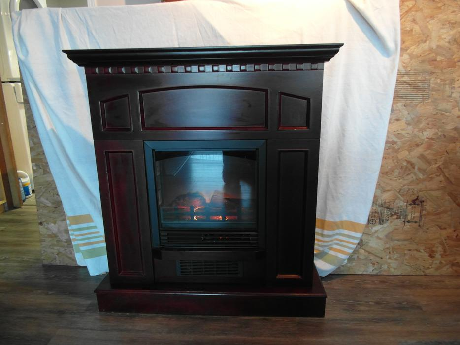 Electric Fireplace With Mandle Duncan Cowichan