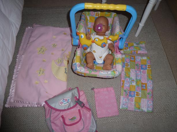 Baby Born Doll Car Seat Accessories Kingswinford