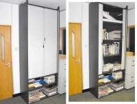 2 large office storage units good for office or home ...