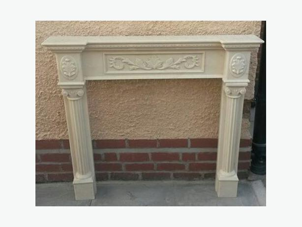Fireplace Surround Marble Resin Shabby Look Dudley Sandwell