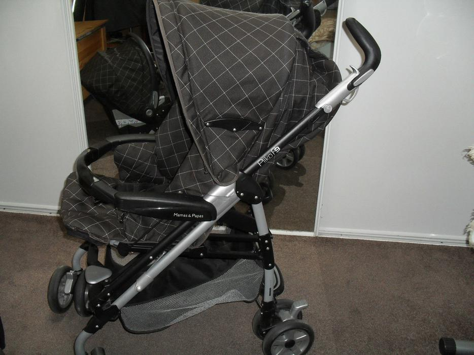 Infant Carrier Handle Position Car Mamas And Papas Travel System Balmain Dudley Dudley