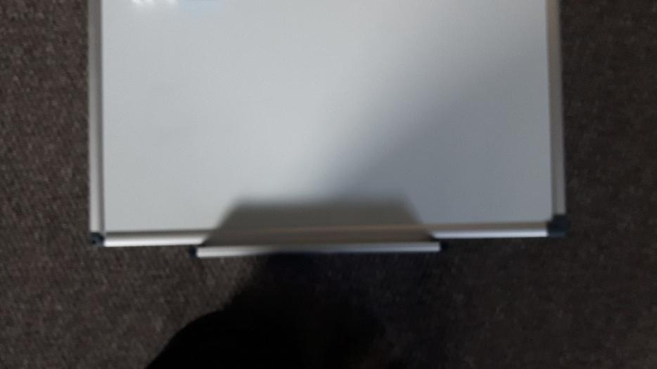 Magnetic White Board With Shelfpens Eraser Dudley