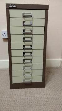 Silverline 10 Drawer Filing Cabinet WOLVERHAMPTON, Dudley