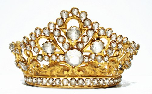 French Ormolu Tiara
