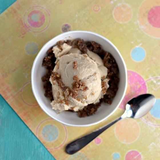 Vegan Salted Caramel Ice Cream