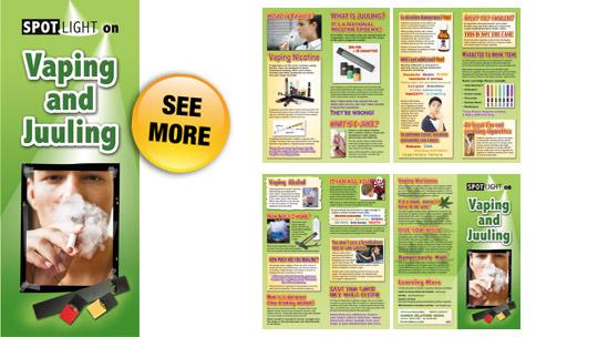 SPOTLIGHT on Vaping Pamphlets - Human Relations Media - K-12 Video