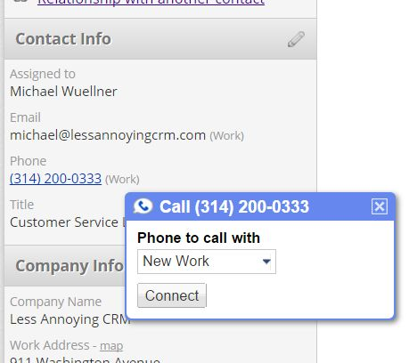 How can I make my phone numbers clickable Google Voice links using