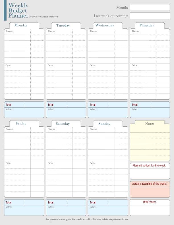 weekly family planner template - Printable Bi Weekly Calendar