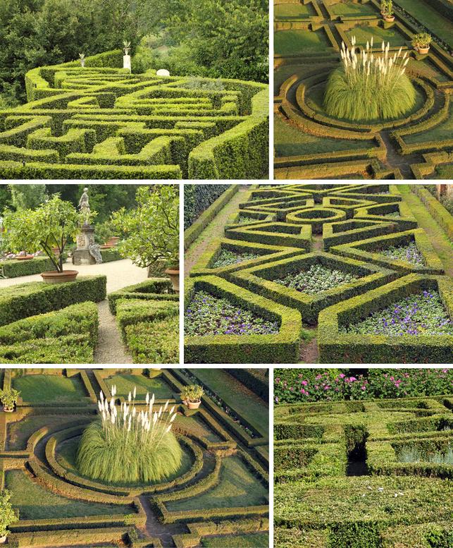 48  - labyrinth garden design