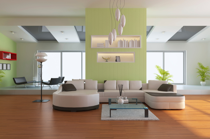 78 Stylish Modern Living Room Designs in Pictures You Have to See - white sectional living room