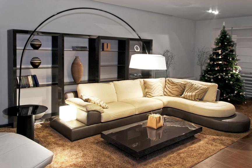 Contemporary Sofa Table Lamp