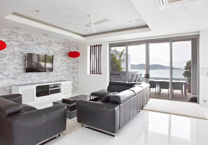 78 Stylish Modern Living Room Designs in Pictures You Have to See - all white living room