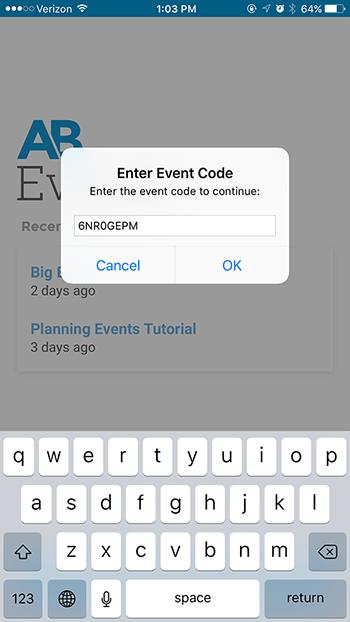 event-code