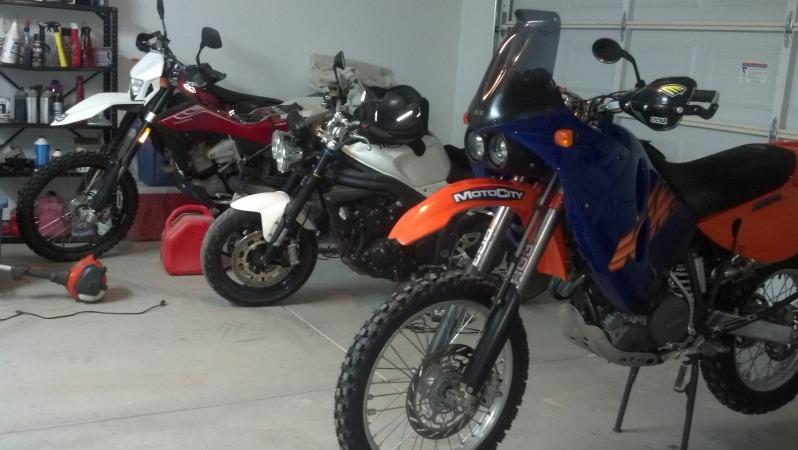 KTM 640 Winter Project Adventure Rider