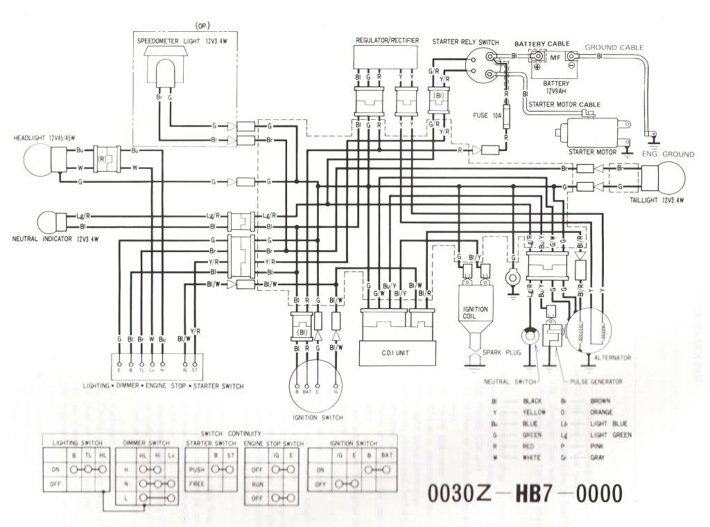 Honda Fat Cat Wiring Diagram Wiring Diagram