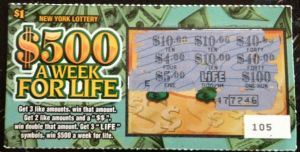 100 Invested in 100 $1 Lottery Tickets | Investing Education