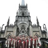 Na Catedral de Petrópolis - RJ